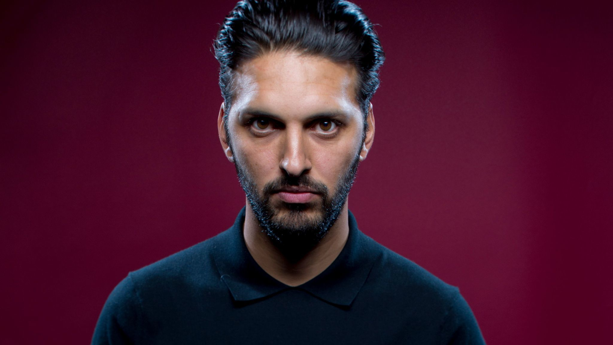 """Shazad Latif, from """"Star Trek Discovery"""" at Comic-Con 2017."""