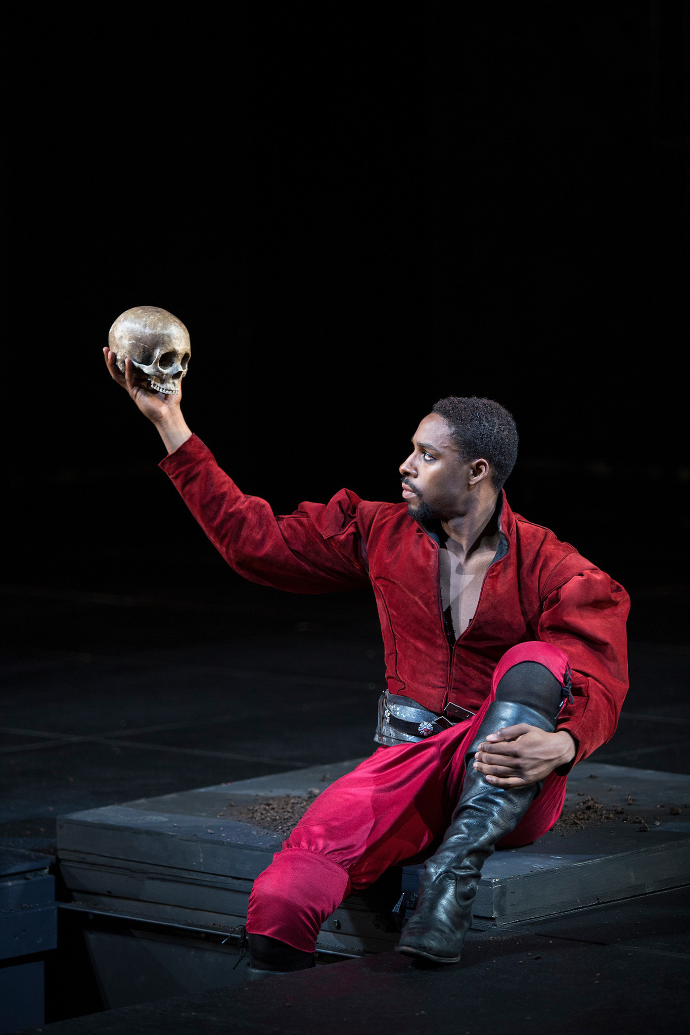 Hamlet is on stage through Sept. 22