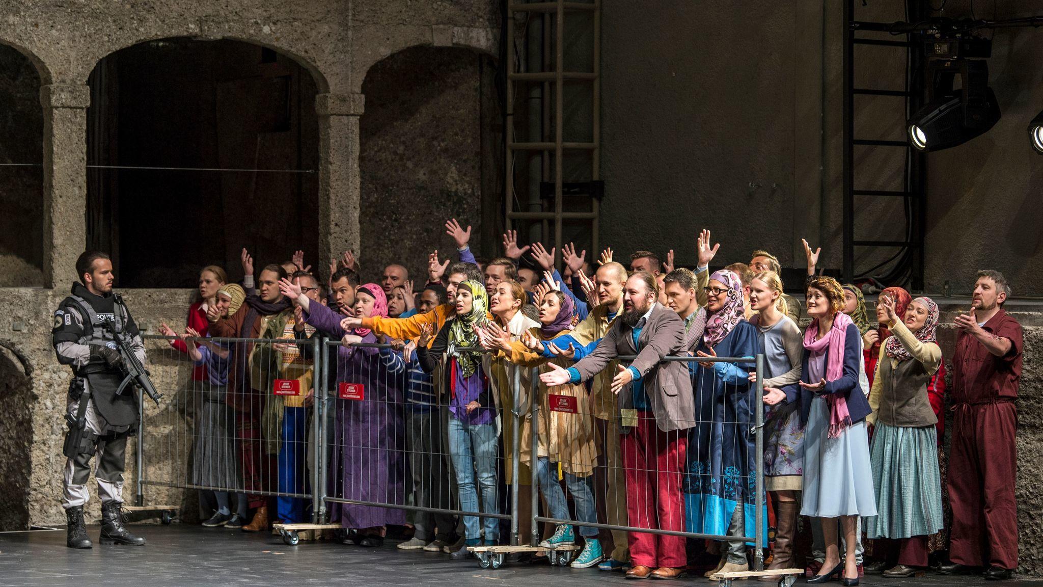 Peter Sellars' Salzburg Festival production of Mozart's