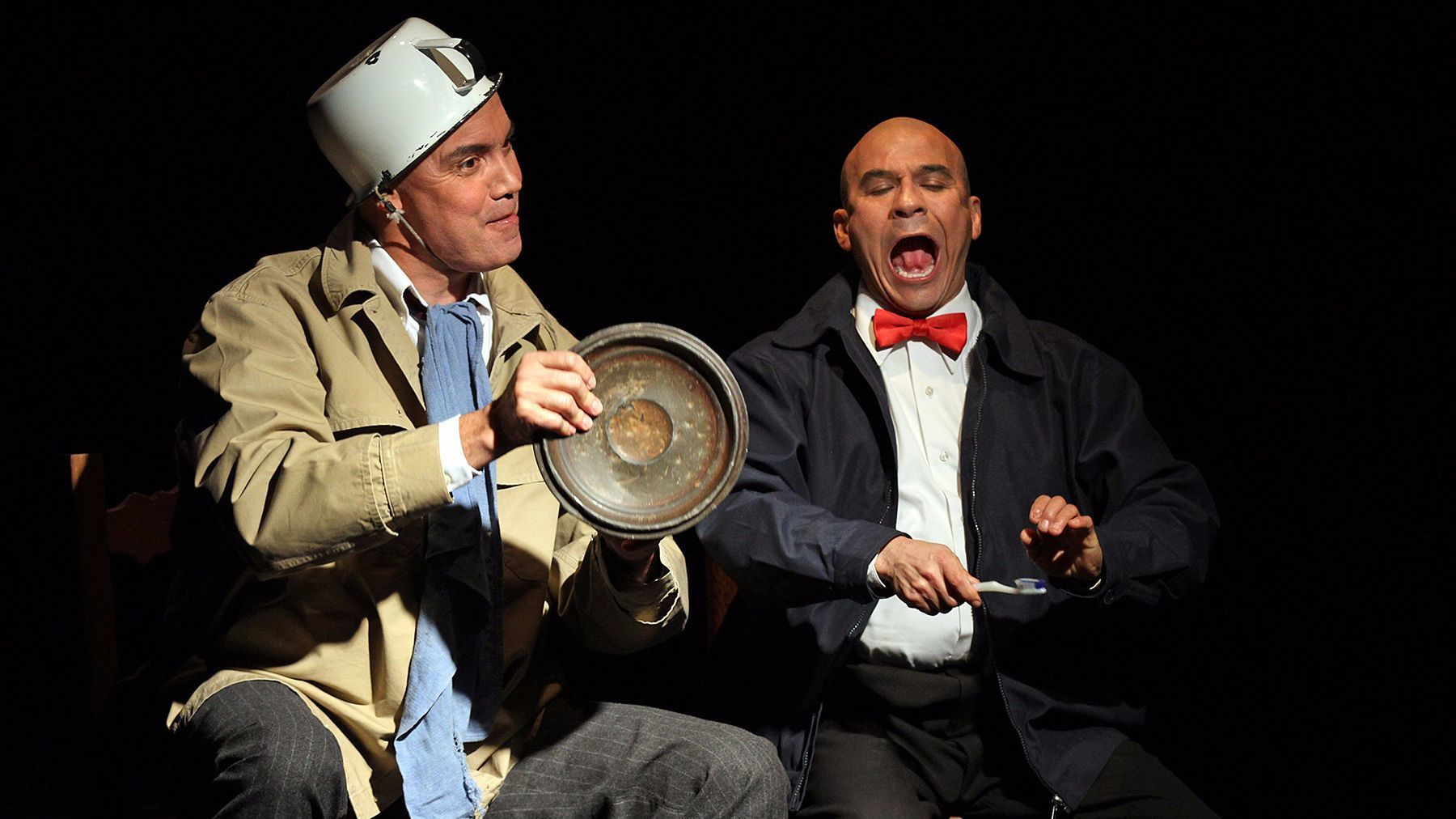 "Jesús Castaños-Chima, left, and Tony Duran in ""La Razón Blindada."""