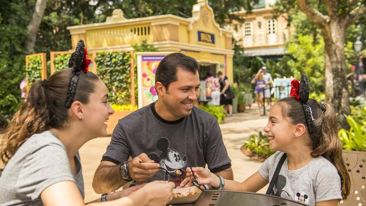 How much does it cost to eat everything at Epcot Food & Wine Fest?