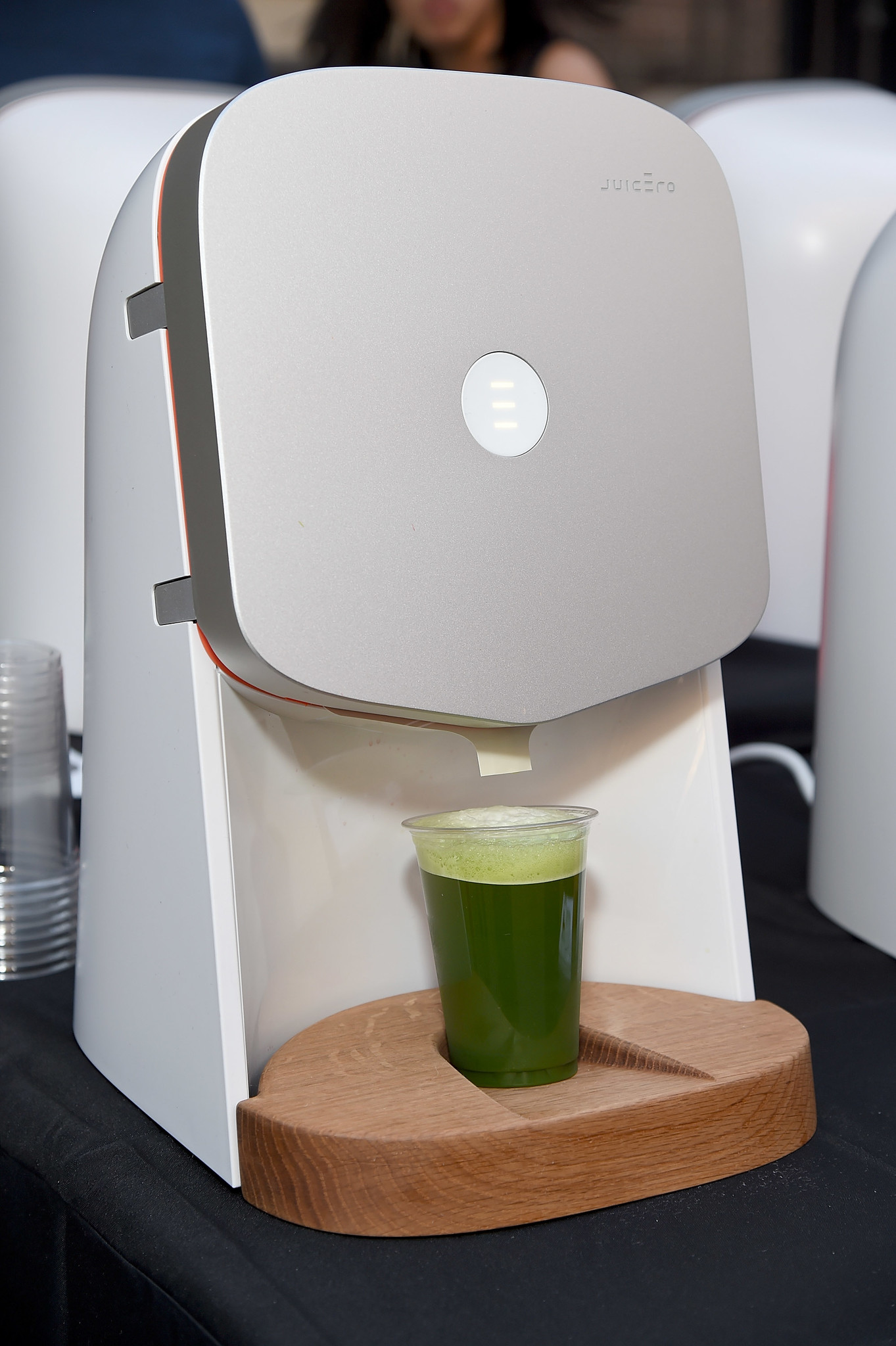 A Juicero juicer.