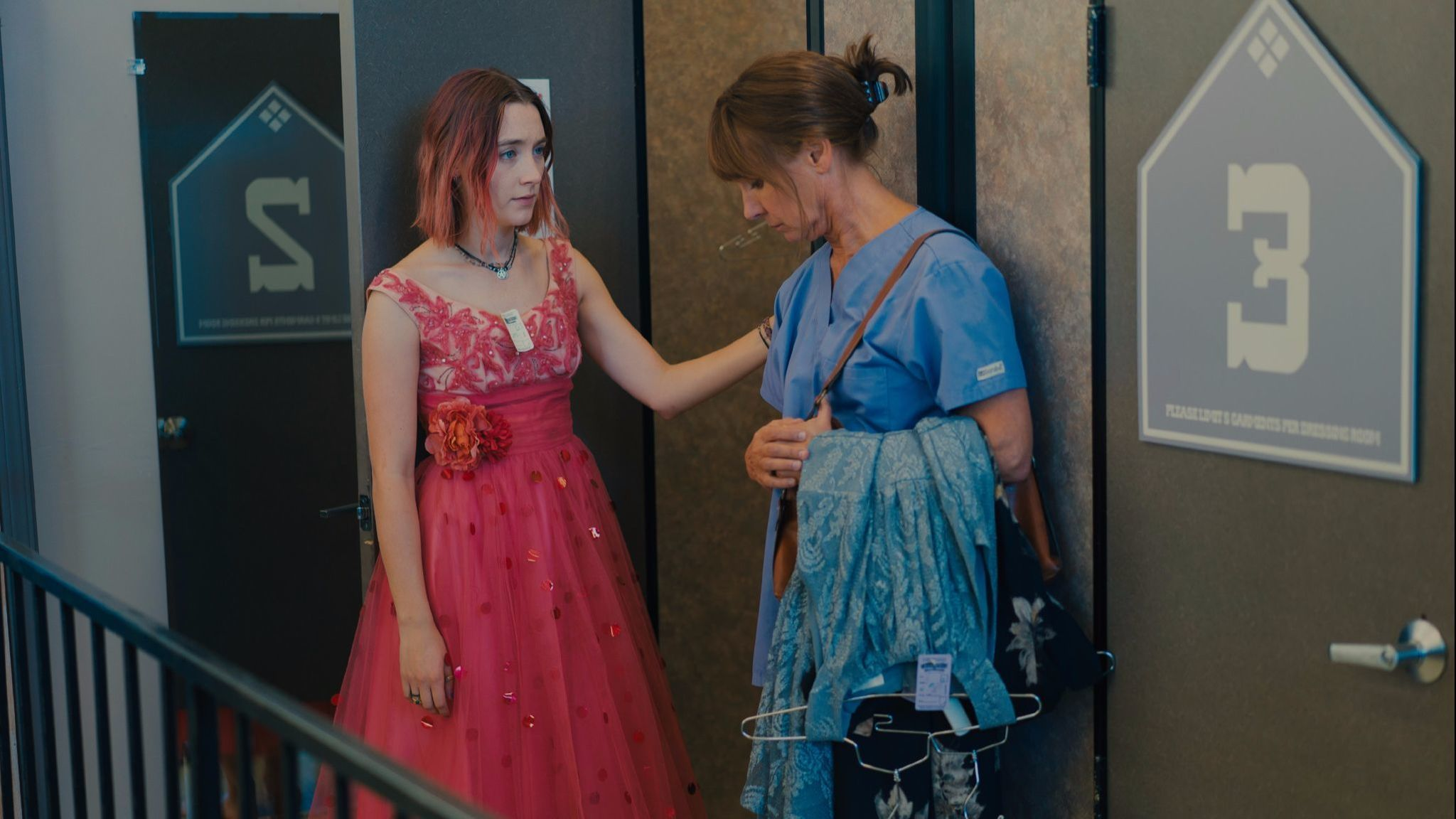 """In """"Lady Bird,"""" Saoirse Ronan portrays an independent high school senior who yearns to escape her hometown of Sacramento and a stormy relationship with her mother, played by Laurie Metcalf."""