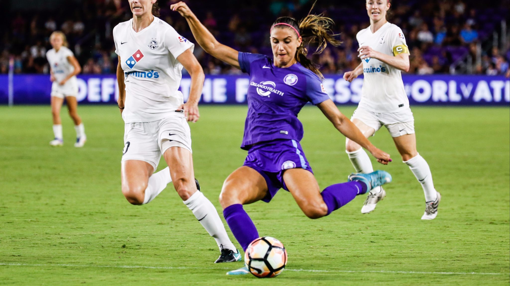 differently 4b9b0 d7f36 Alex Morgan to stay with Orlando Pride, skip return to ...