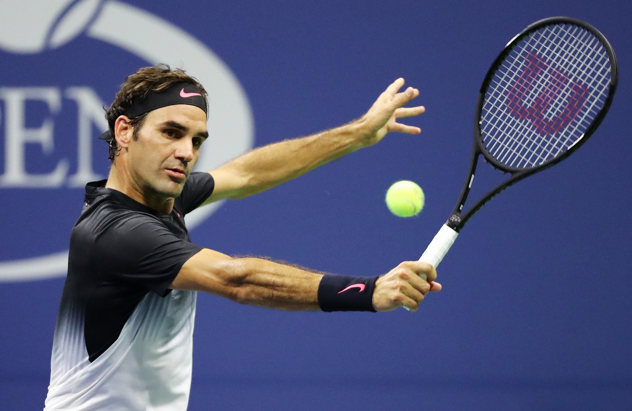 Roger Federer looks back at best in straight-sets win over Feliciano Lopez at US Open ...