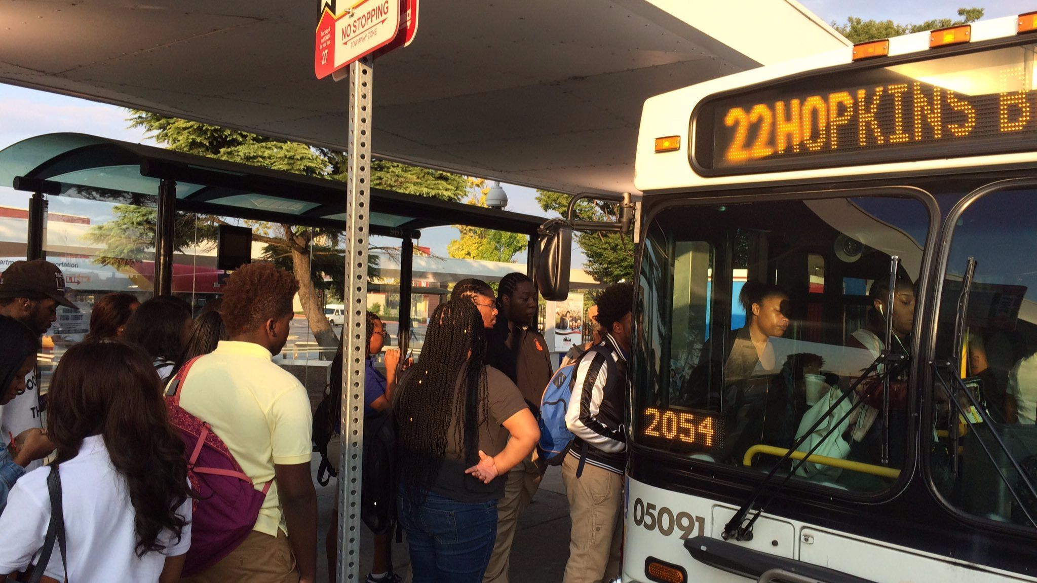 27 000 Baltimore Students Return To School On Redesigned