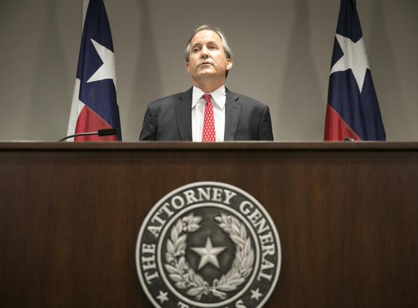 Texas Atty. Gen. Ken Paxton (Jay Janner / Associated Press)