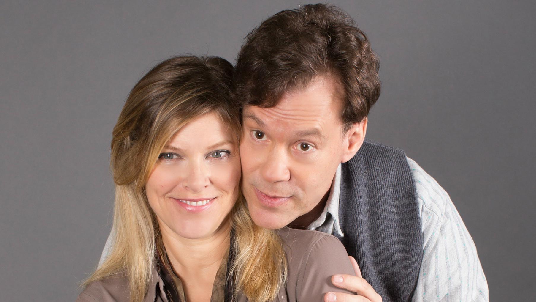 """""""Incognito"""" stars Betsy Zajko and Joseph Fuqua."""
