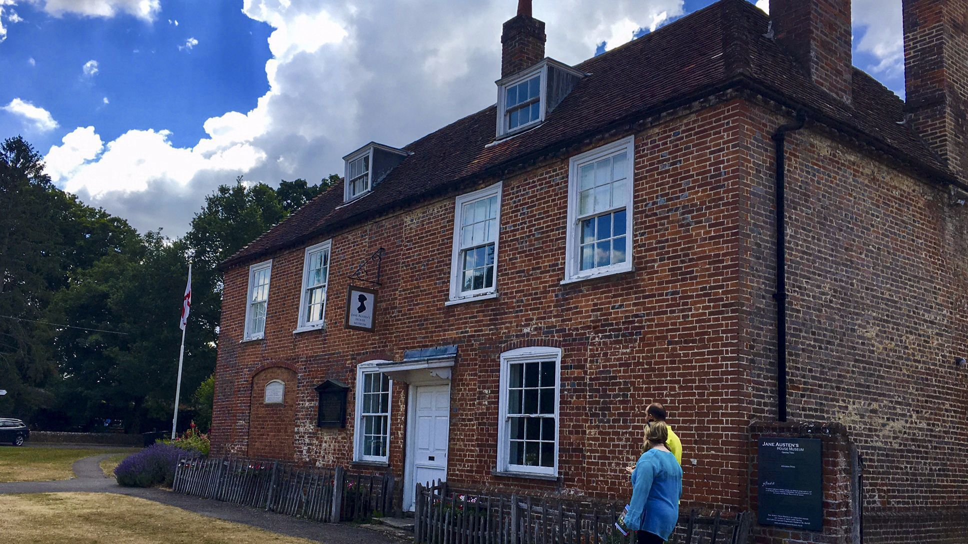 Austen lived in Hampshire, England, for several years, completing most of her major works there.  Her home is now the Jane Austen House Museum, a draw for fans.