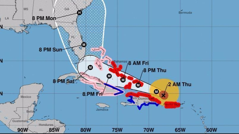 Hurricane Watches May Be Issued Today As Hurricane Irma Threat To