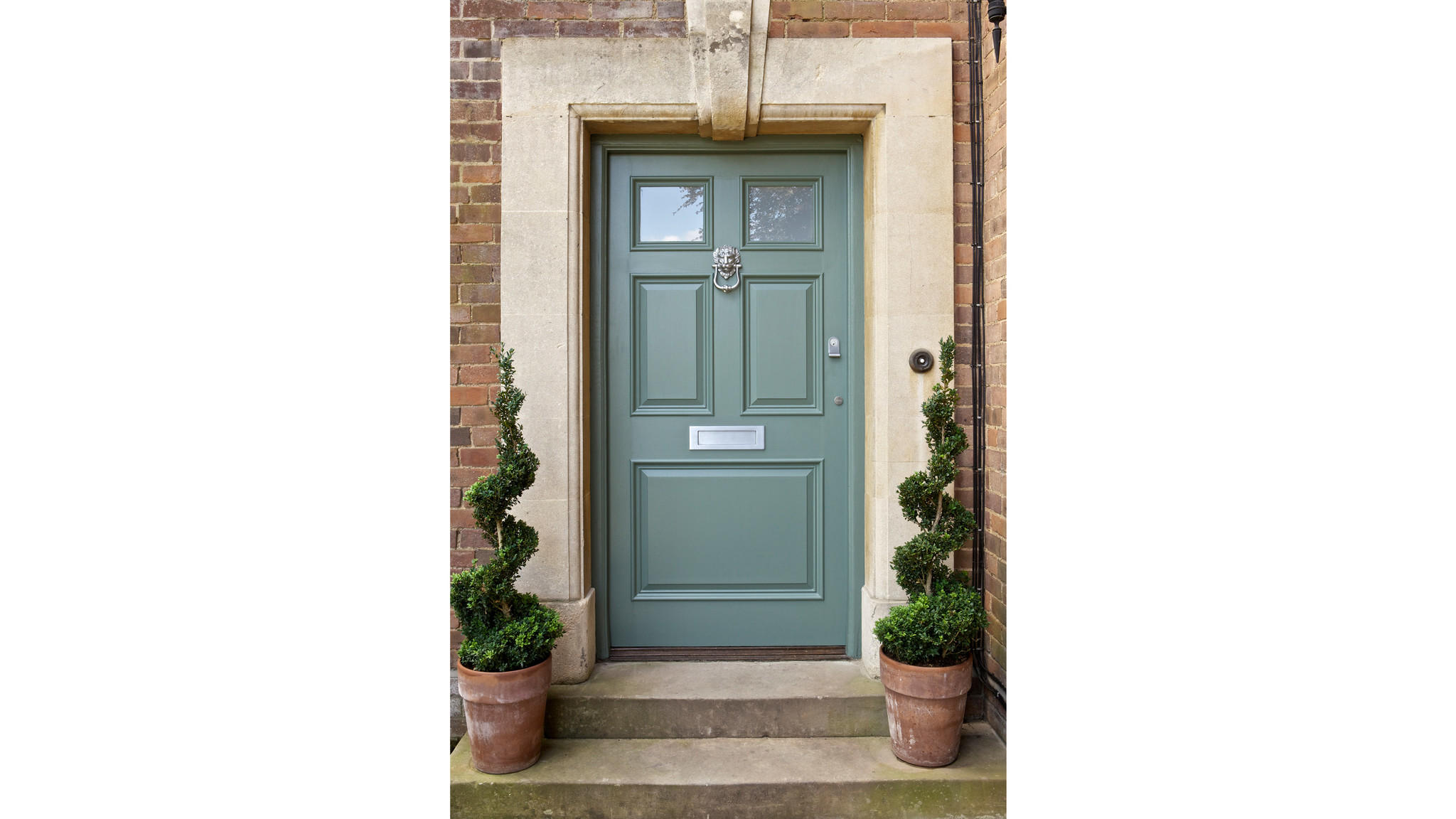 Farrow & Ball paint Card Room Green No. 79 Exterior Eggshell.