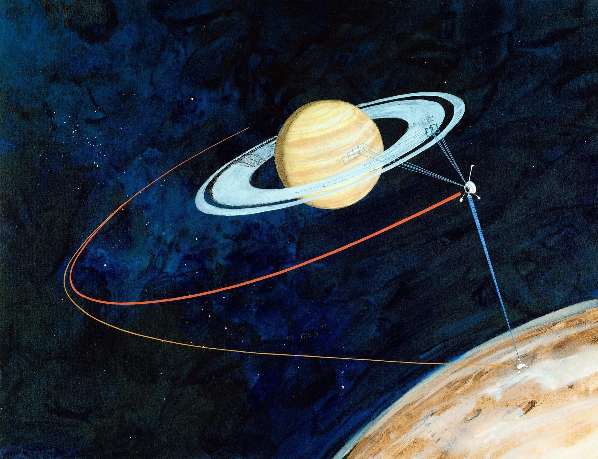cassini satellite with neptune - photo #38