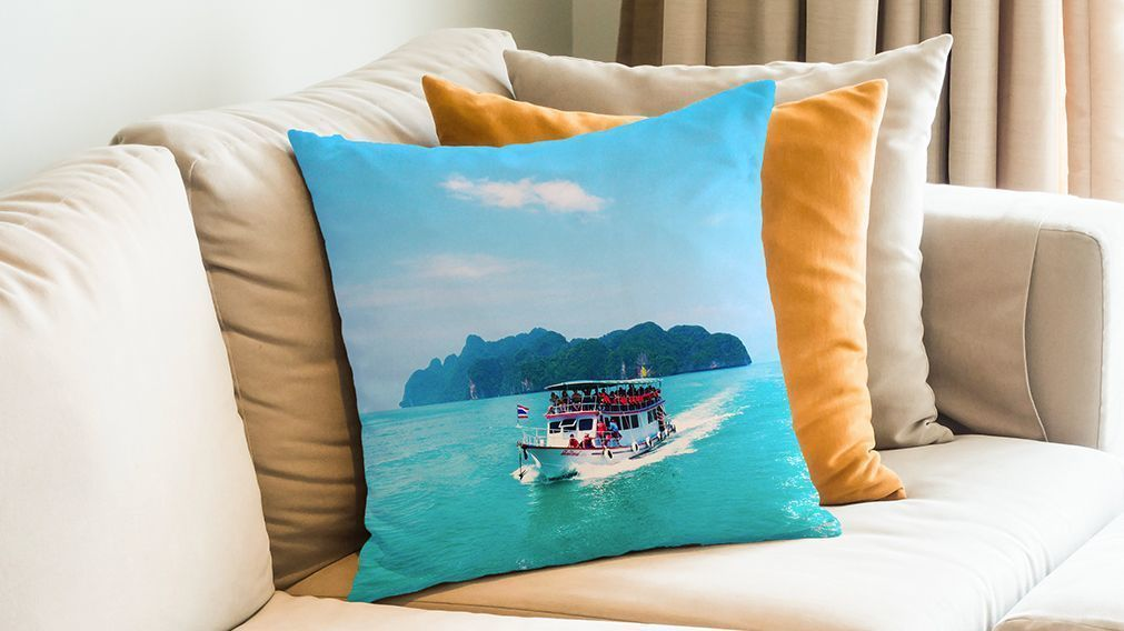 Turn Those Vacay Pics Into Pillows Magnets And More