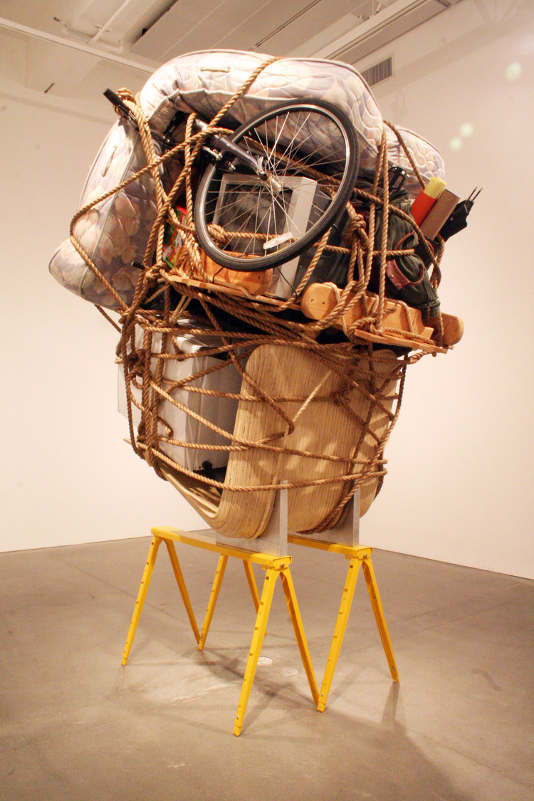 """Camilo Ontiveros first made a version of """"Temporary Storage"""" at UCLA in 2009, featuring all of his own belongings."""