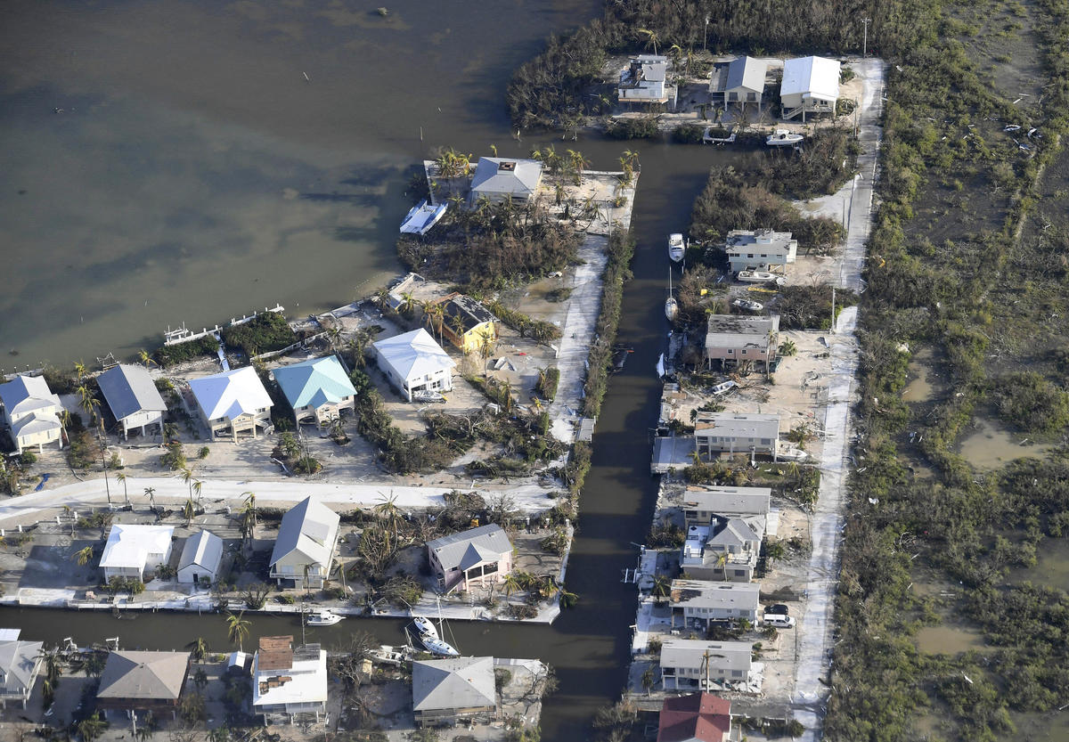 Photos Aerial Images Of Damage To The Florida Keys By