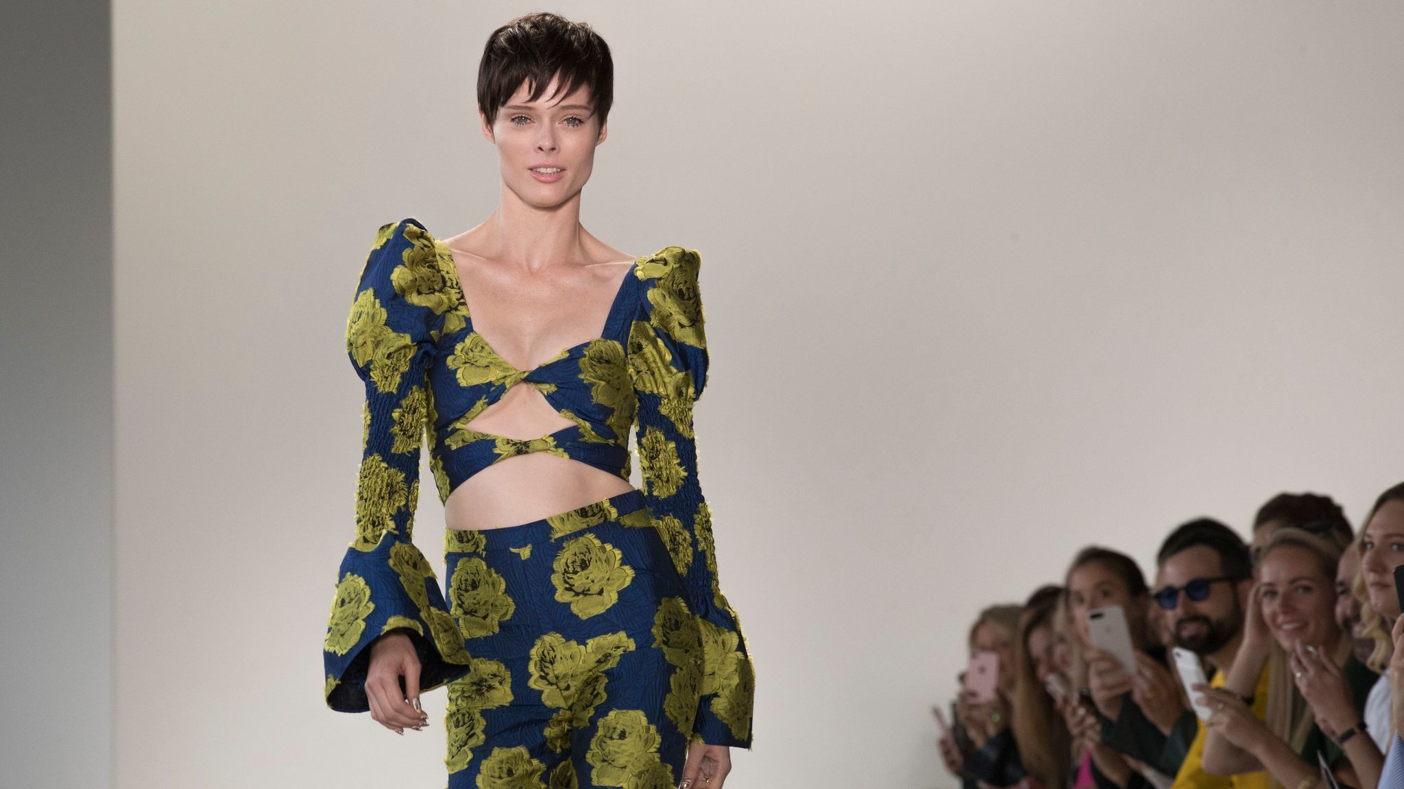 72cc94e0a1e Christian Siriano shows new growth with stunning spring collection at New  York Fashion Week