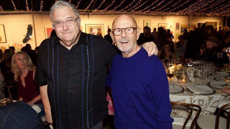 Randy Newman and Mo Ostin