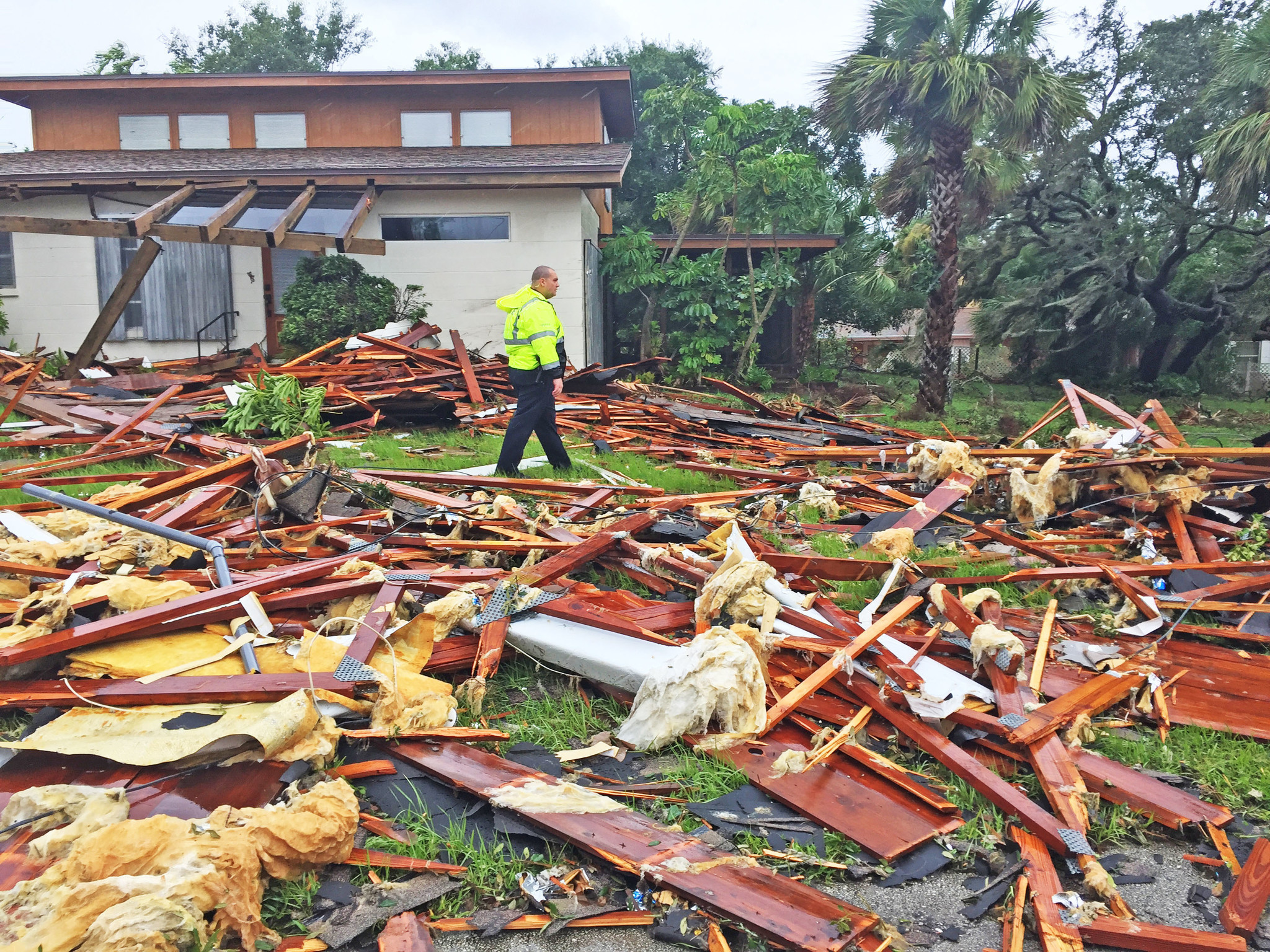 Pictures  Hurricane Irma Damage In Brevard County