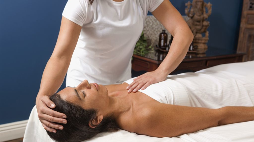 Massage therapy breast massages the