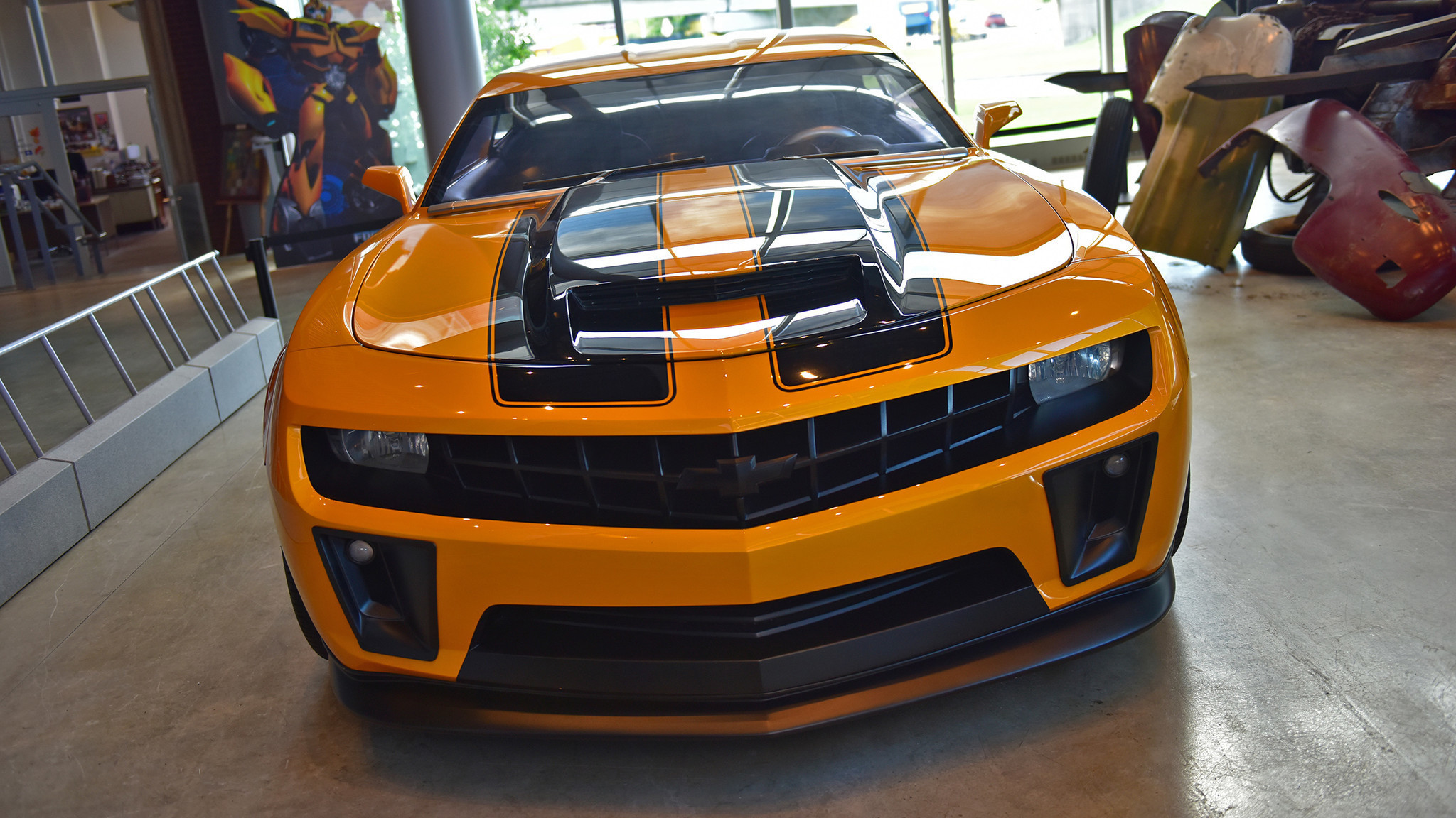 Transformers Cars: Allentown Museum Boasts Largest-ever 'Transformers' Car