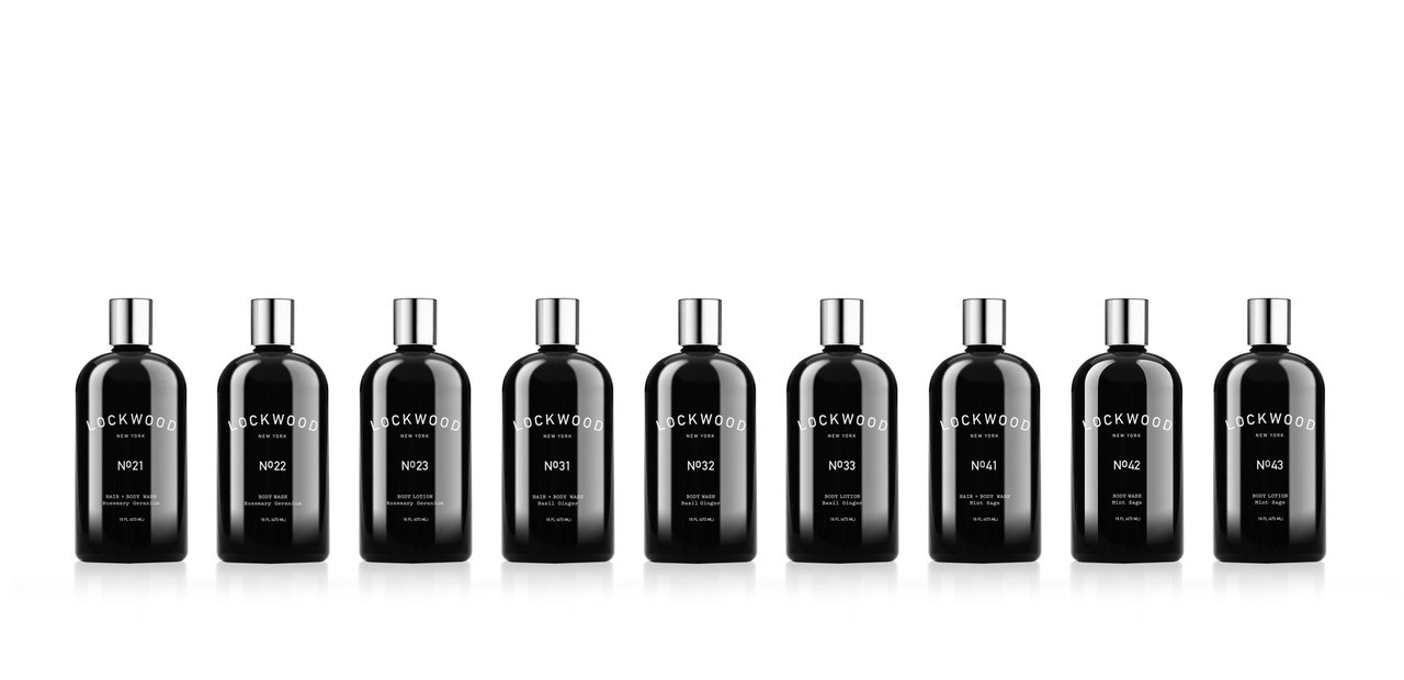 Lockwood products predominantly use ingredients such as basil, ginger, mint, sage, rosemary and geranium. Prices range from $14 to $48, lockwoodnewyork.com.