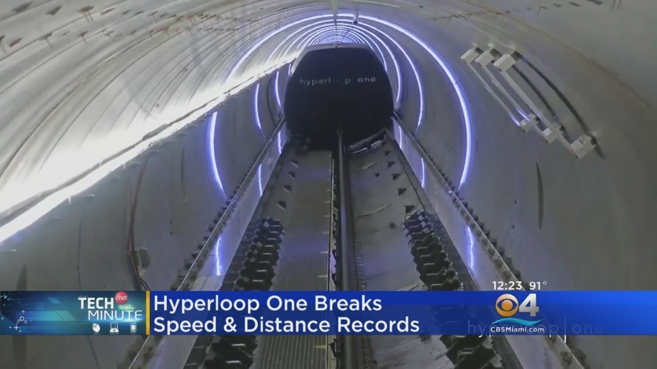 Hyperloop Ones Ultra Fast High Speed Rail Selects Orlando As