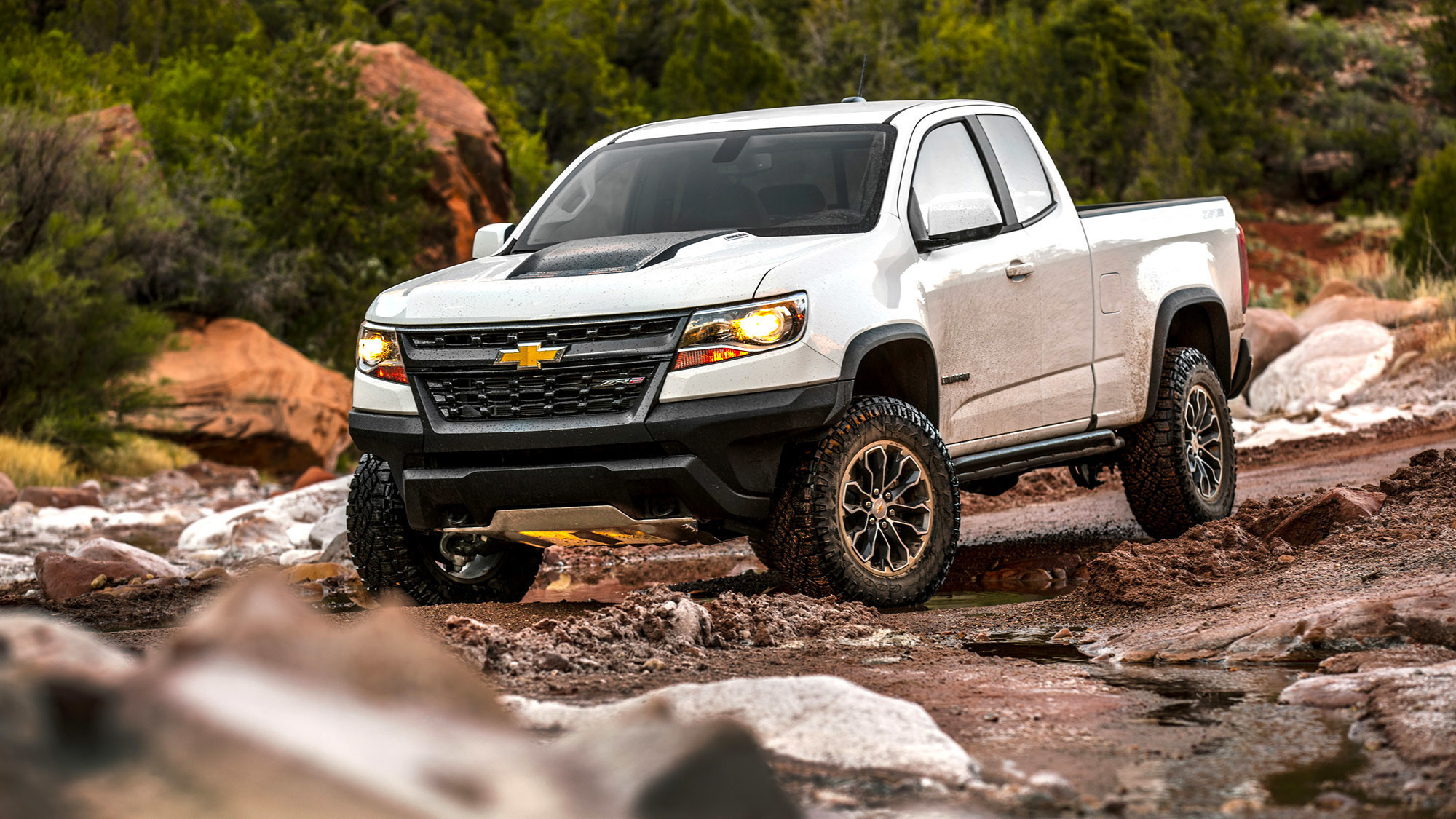 Chevy's Colorado ZR2 is a big boy truck toy - LA Times