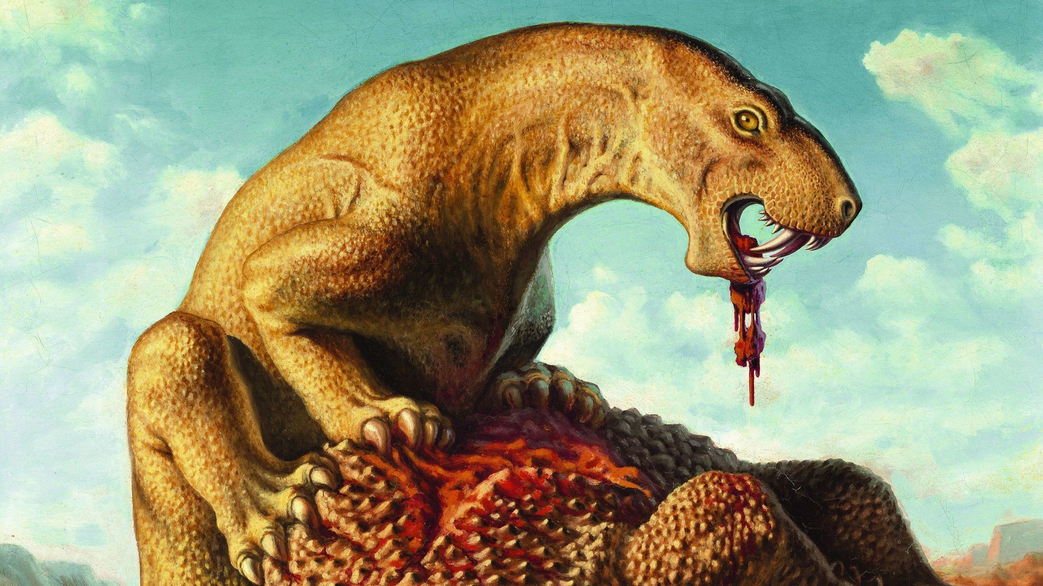 The art of extinction: Why a dinosaur painted in Russia ...