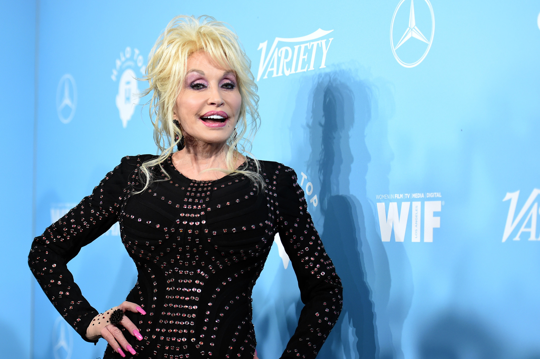 Dolly Parton attends the Variety and Women in Film event.
