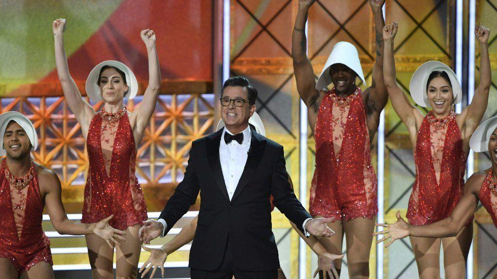 Emmys Stephen Colbert Loses Prize Wins Night Orlando