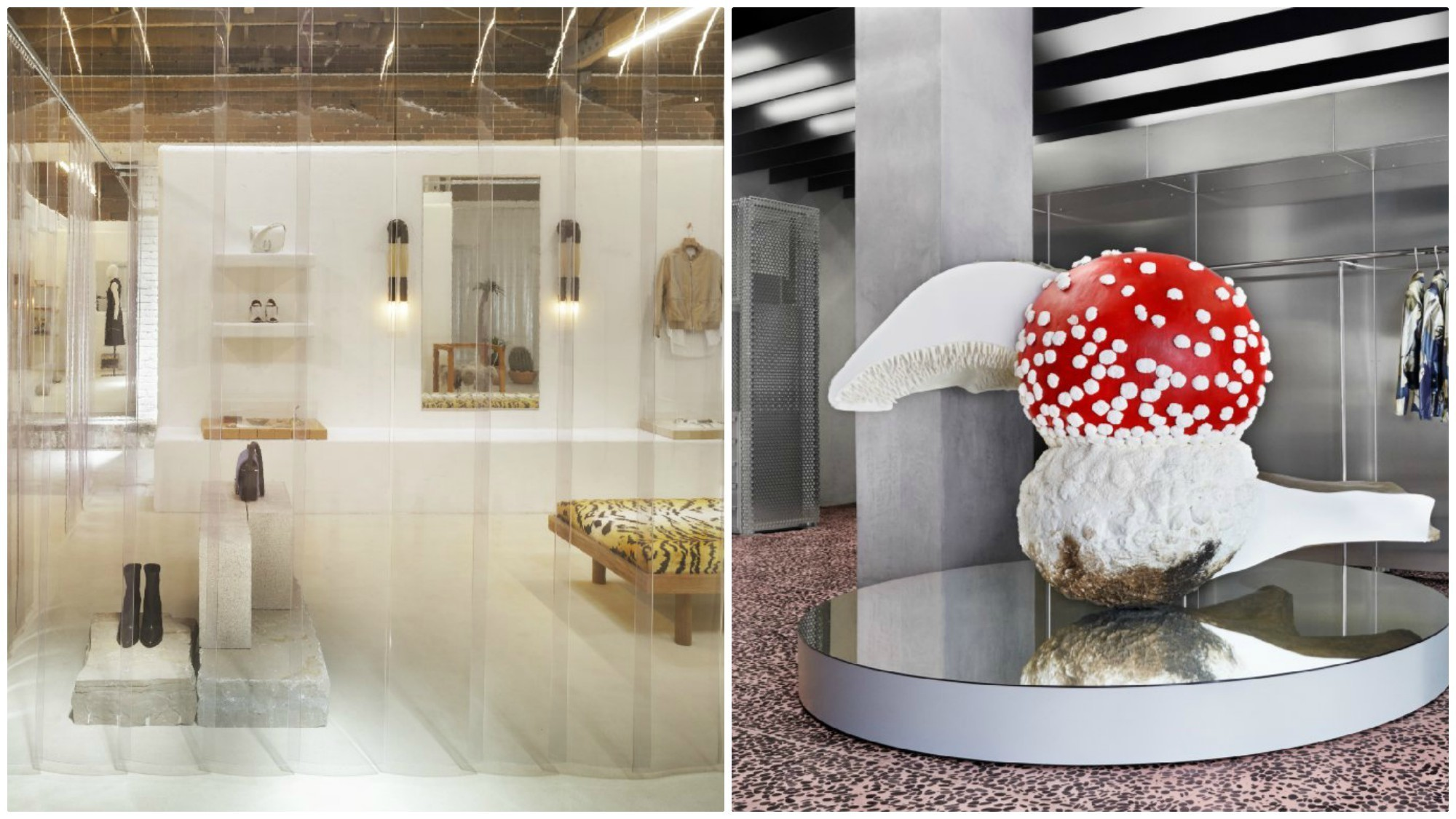 Uniqlo will join fashion brands including 3.1 Phillip Lim, left, and Acne Studios, which have retail spaces in downtown Los Angeles.