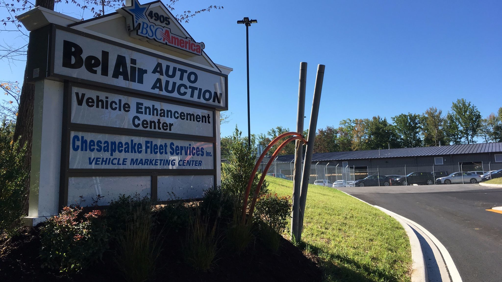 Bel Air Auto Auction >> Bel Air Auto Auction Opens New Riverside Facility The Aegis