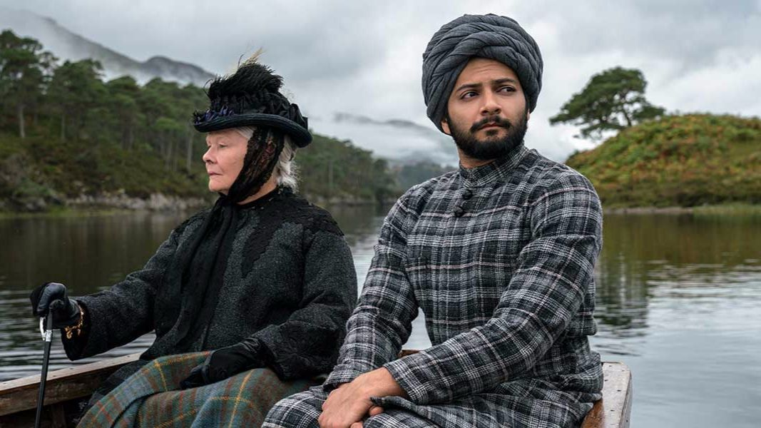 "Judi Dench portrays Queen Victoria and Ali Fazal is Abdul Karim in ""Victoria & Abdul."""