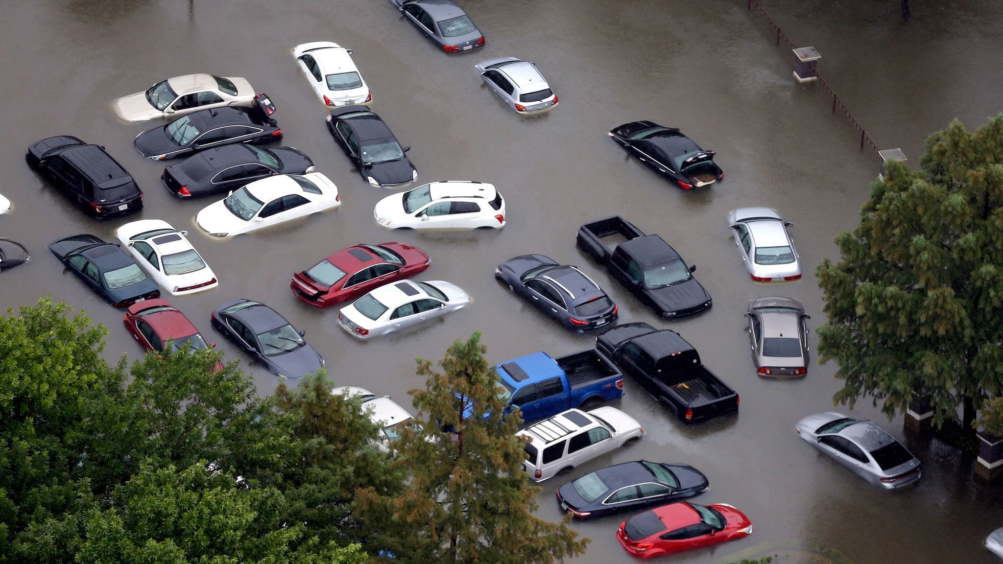 Nine Signs That The Car You Want To Buy Has Been Damaged In A Flood - San antonio car show parking