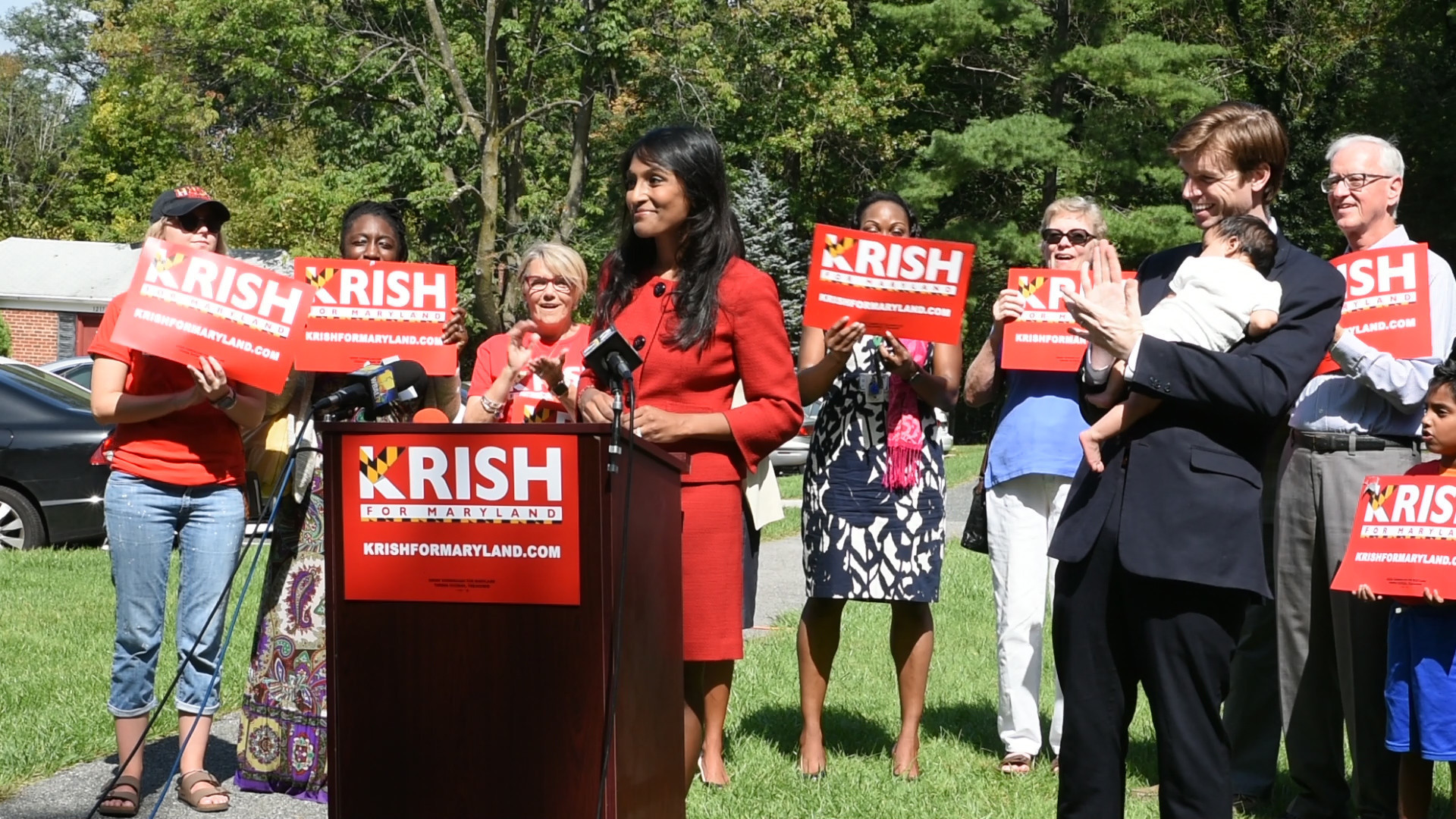 Krishanti Vignarajah, The Only Woman Running For Maryland Governor, Launches Campaign