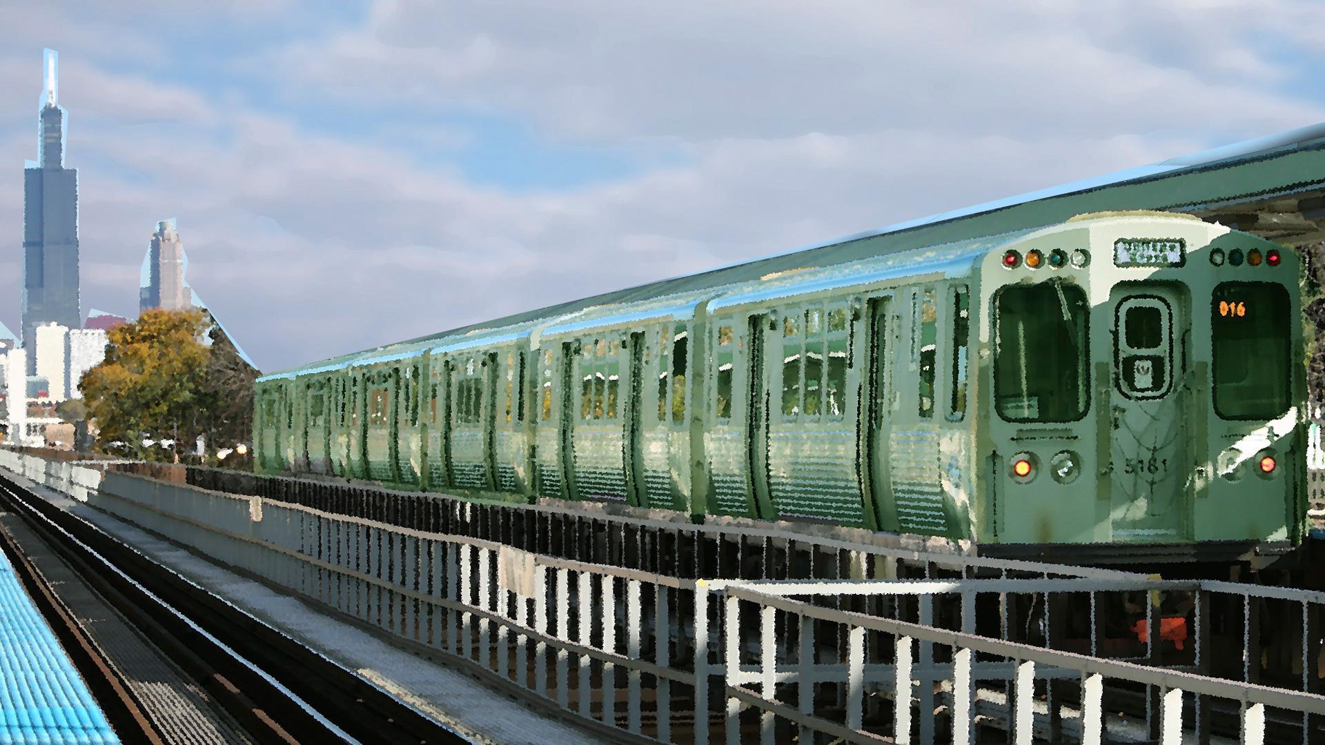 Man dies after falling on third rail at CTA Blue Line
