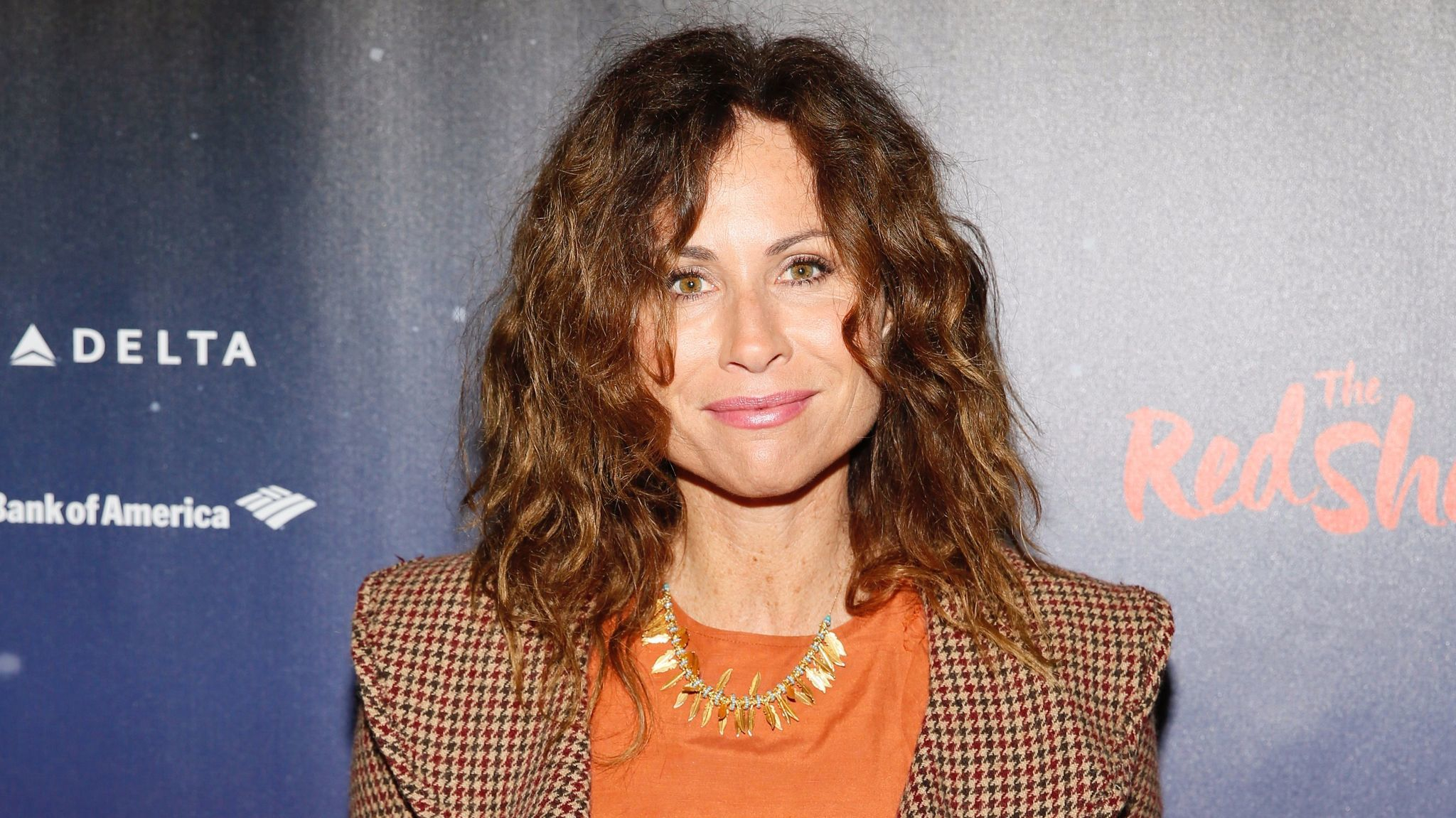 """Minnie Driver at opening night performance of """"The Red Shoes"""" in downtown Los Angeles."""