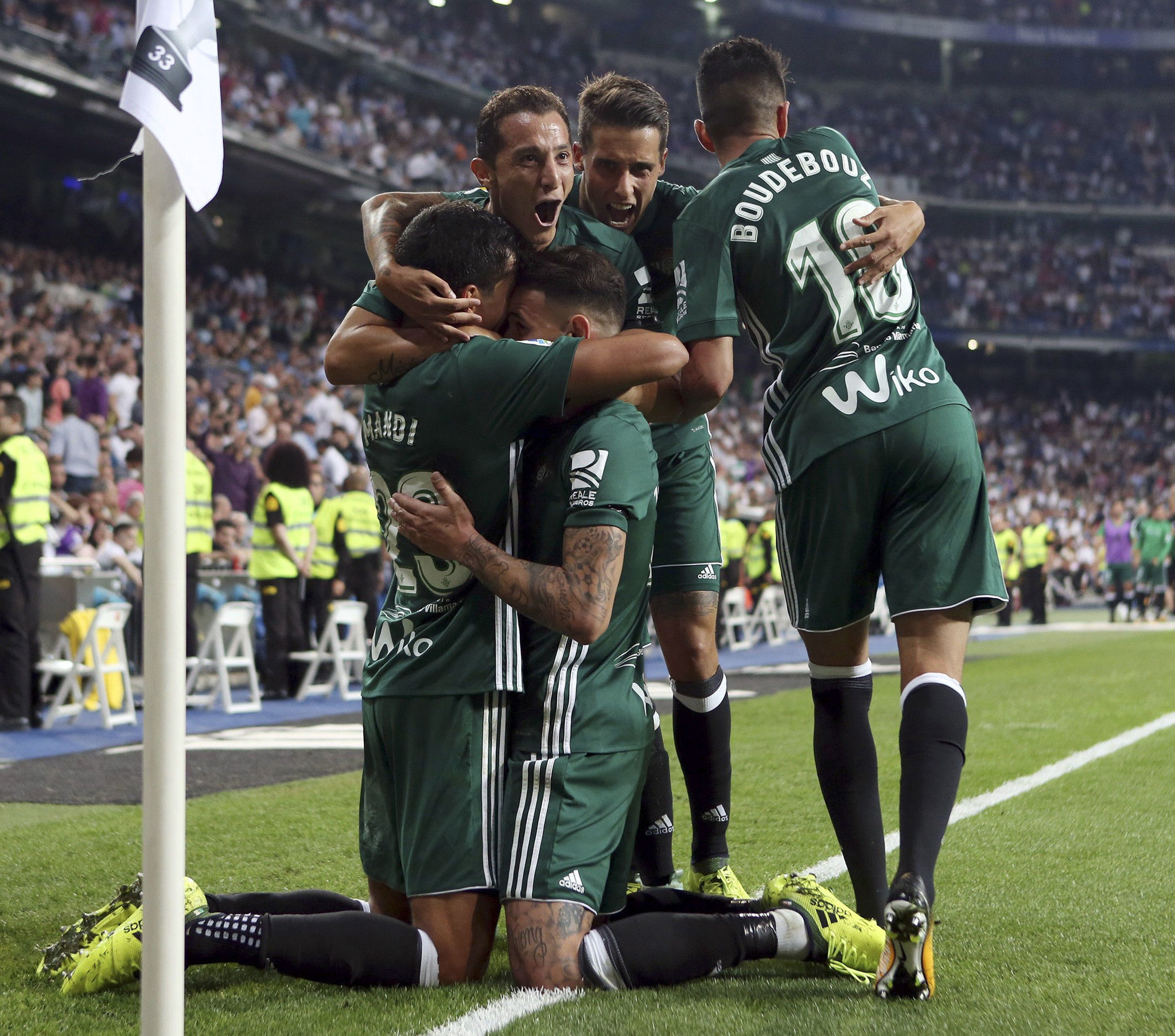 The best images of Real Madrid vs. Real Betis in LaLiga ...