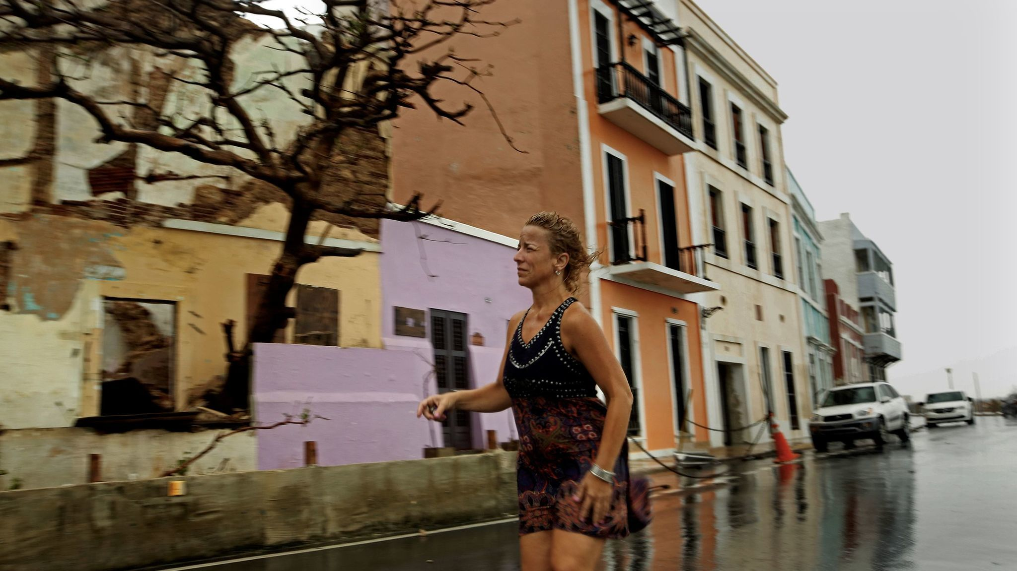 Rosa Avalo awoke in her home in Old San Juan to several inches of floodwater and a gaping hole in the bathroom wall.