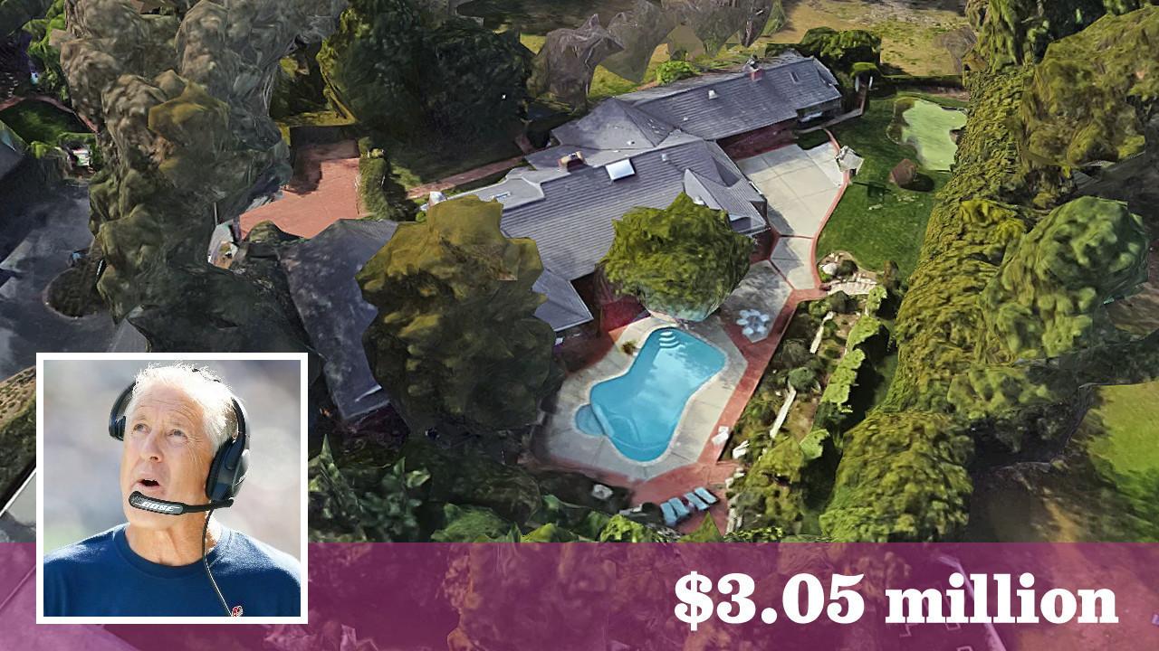 Seahawks Coach Pete Carroll Sells Rolling Hills Estate In