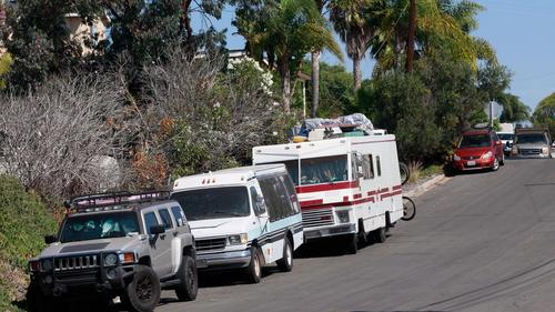 Disabled homeless people challenging San Diego's RV parking law