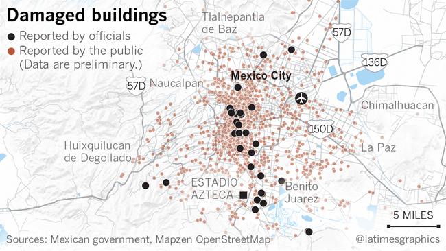 Why Some Buildings Crumbled And Others Survived The Mexico City