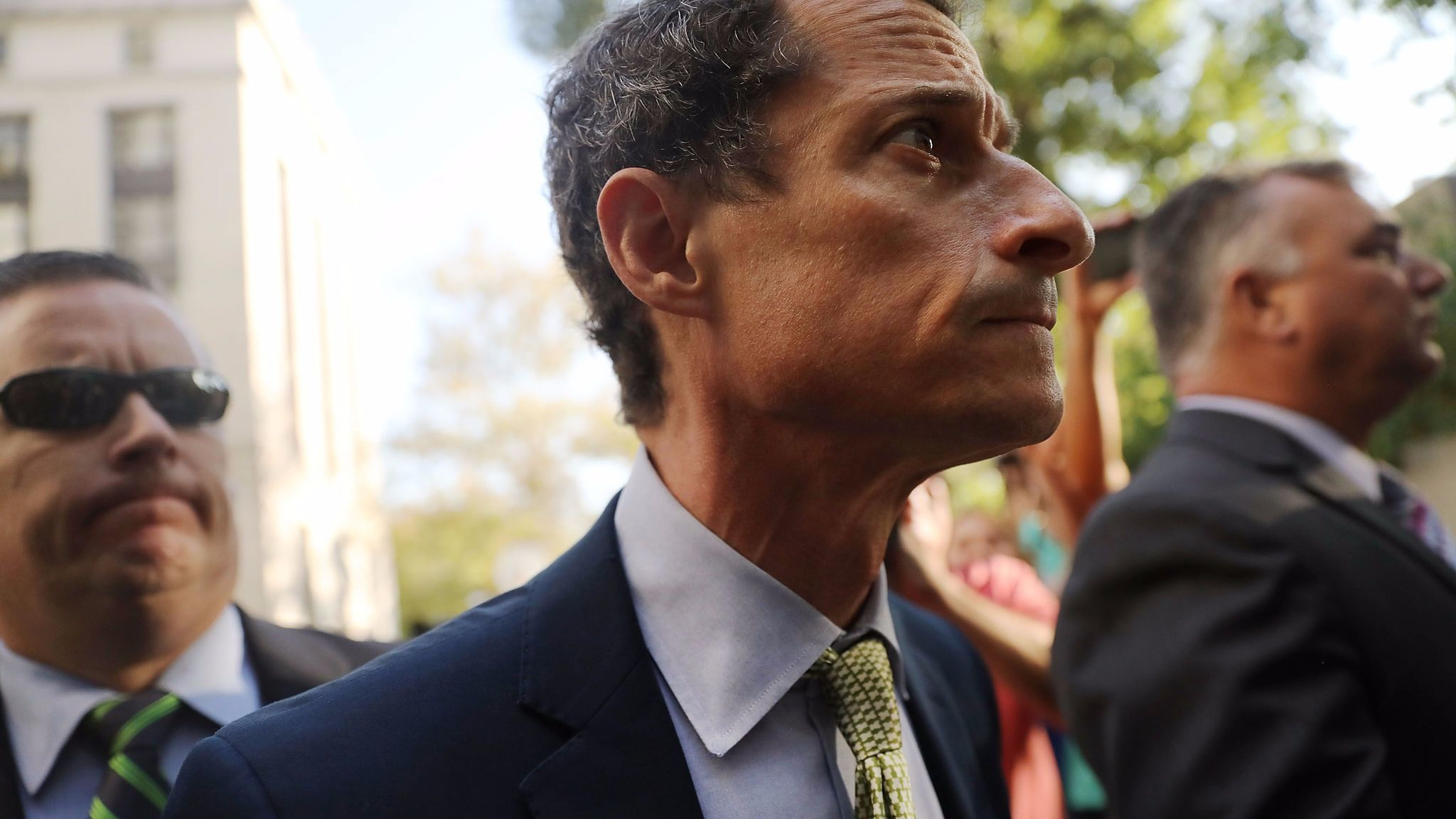 Weiner Tells New York Judge, 'I Have No Excuses,' As He Is Sentenced To 21 Months In Prison In Sexting Case