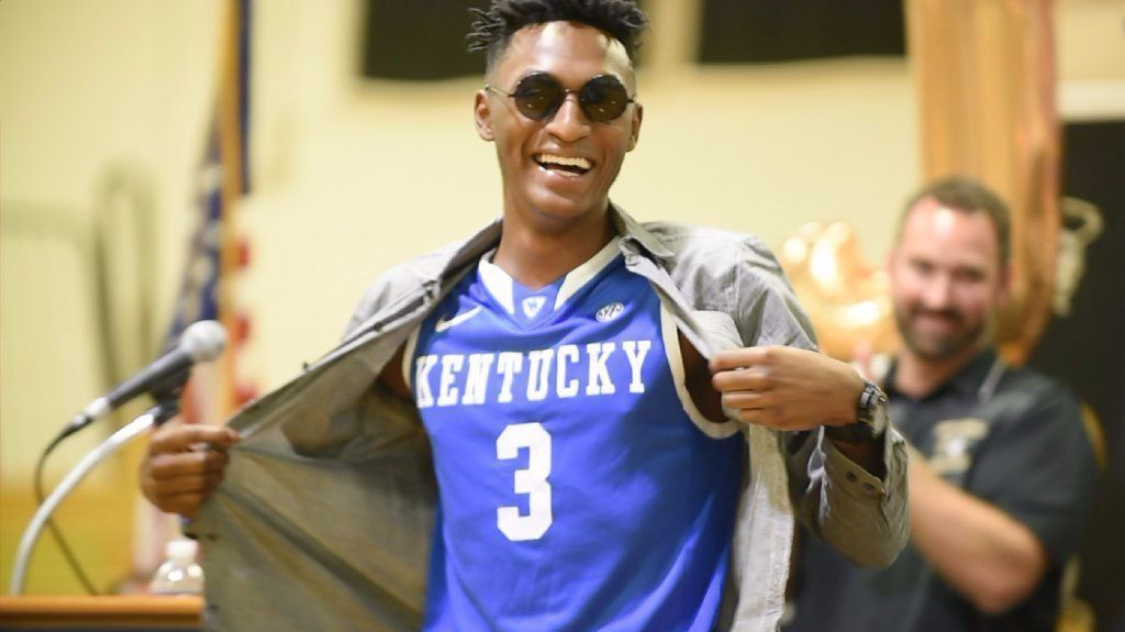 Kentucky Basketball Top 5 Point Guards Of The John: John Carroll Point Guard Immanuel Quickley Commits To
