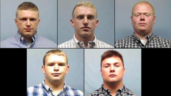 Wheaton College football players charged