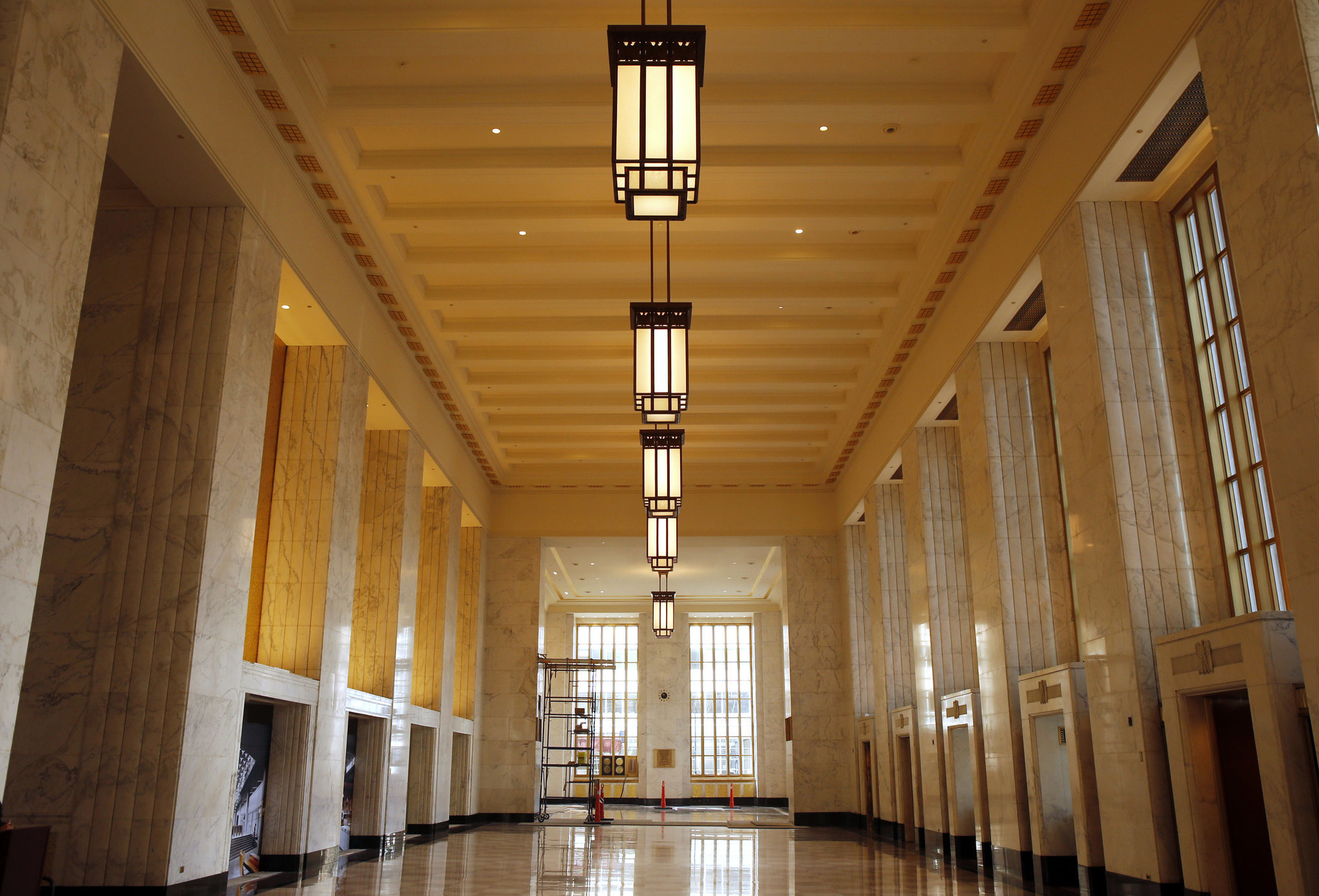Inside the old main post office a $600 million blank