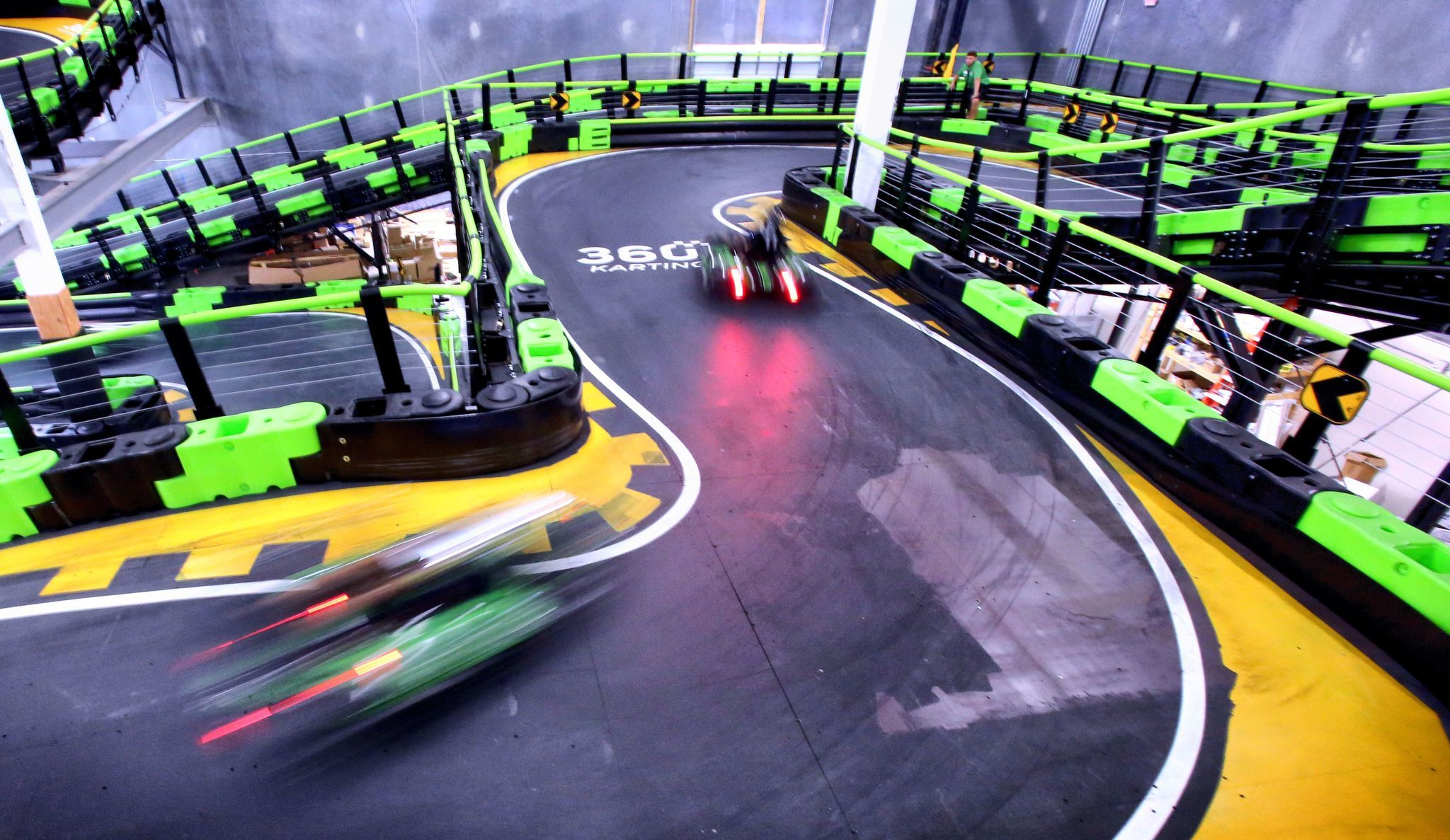 Andretti Indoor Karting Brings Electric Jolt To Orlando S I Drive