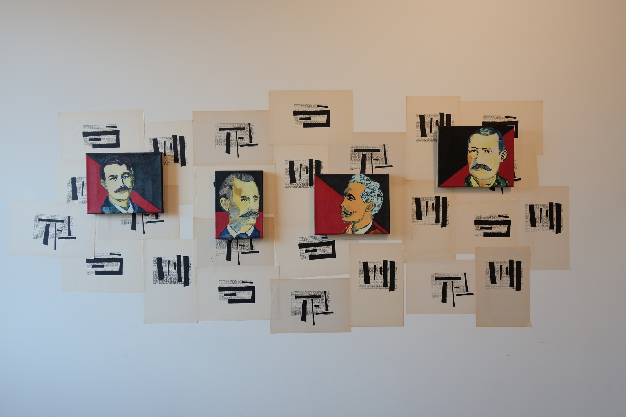 """Mártires de Chicago,"" by Magdalena Jitrik,"" at ProyectosLA."
