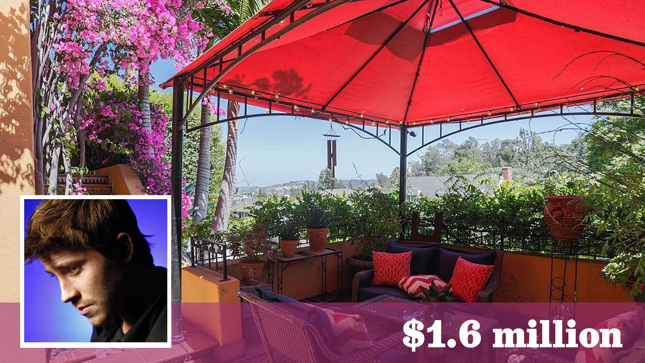 Actor Garrett Hedlund Finds A Classic Spot In Los Feliz To