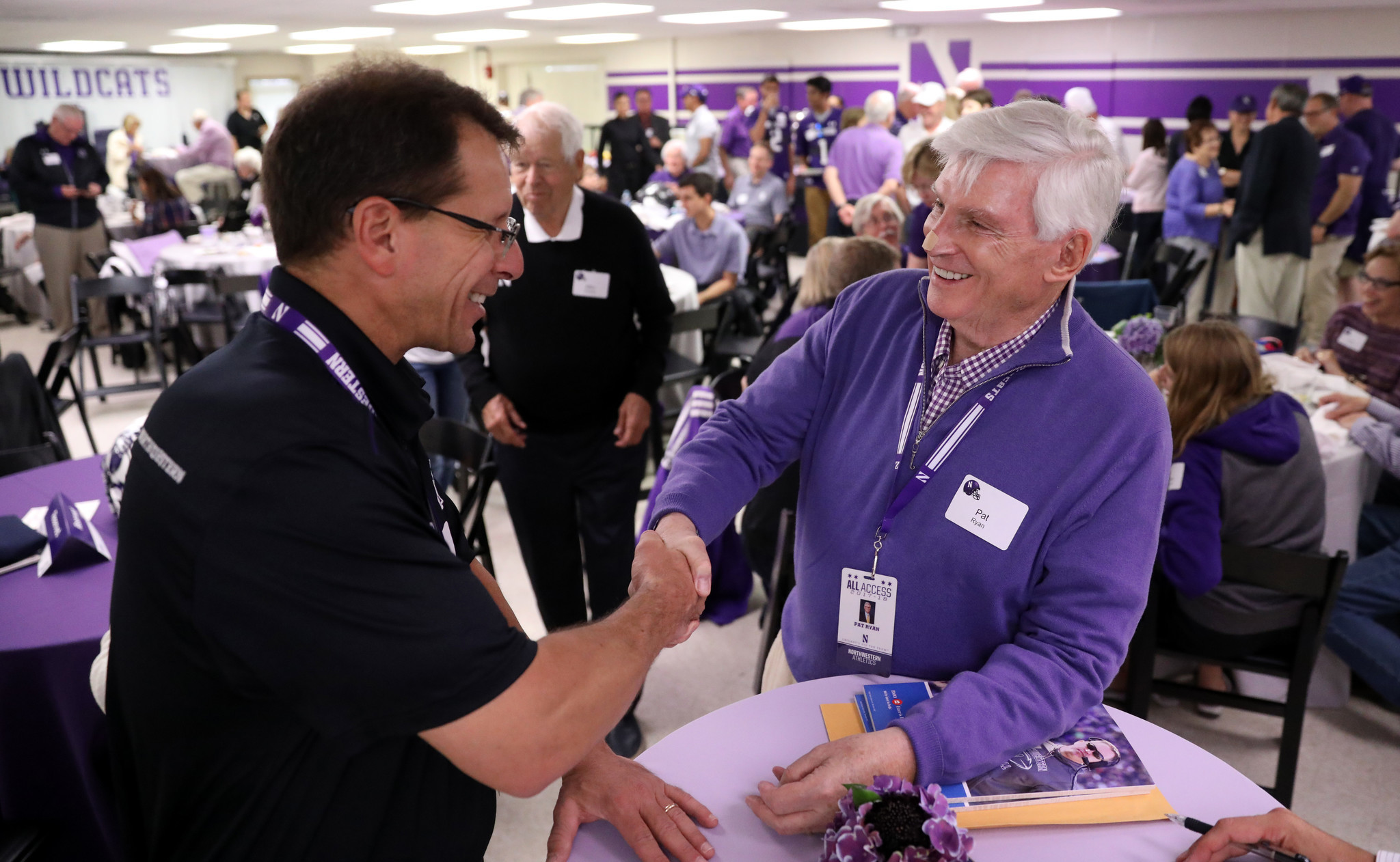 A Humble Elusive Billionaire Northwestern Donor Pat
